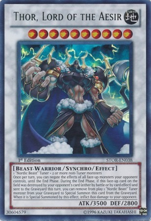 yugioh thor lord of the aesir - utra rare - gamestcg