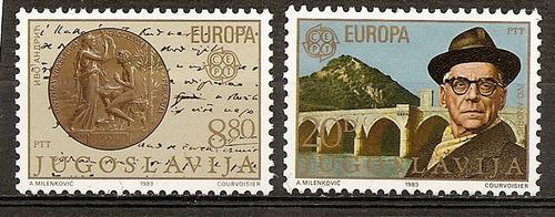 yugoslavia serie 2v.mint yvert n°1867/8