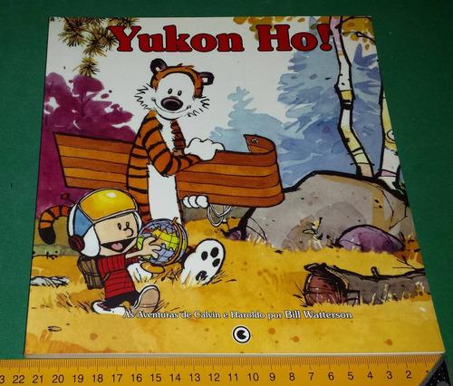 yukon ho! - calvin e haroldo - quadrinhos