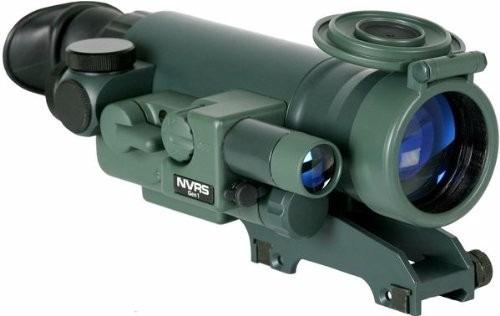 yukon nvrs titanium 1.5x42 night vision rifle scope, weaver
