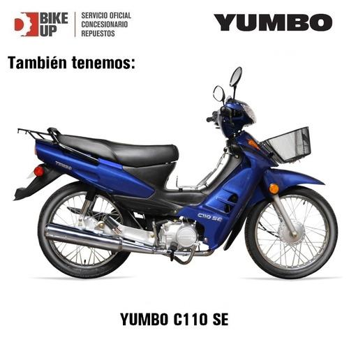 yumbo c110 dlx - en cuotas - tomamos tu moto usada - bike up
