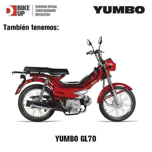 yumbo c110 dlx - tomamos tu moto usada - bike up