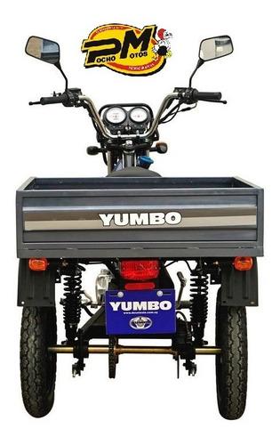 yumbo cargo 110 triciclo 100% financiado con casco y empa!!!