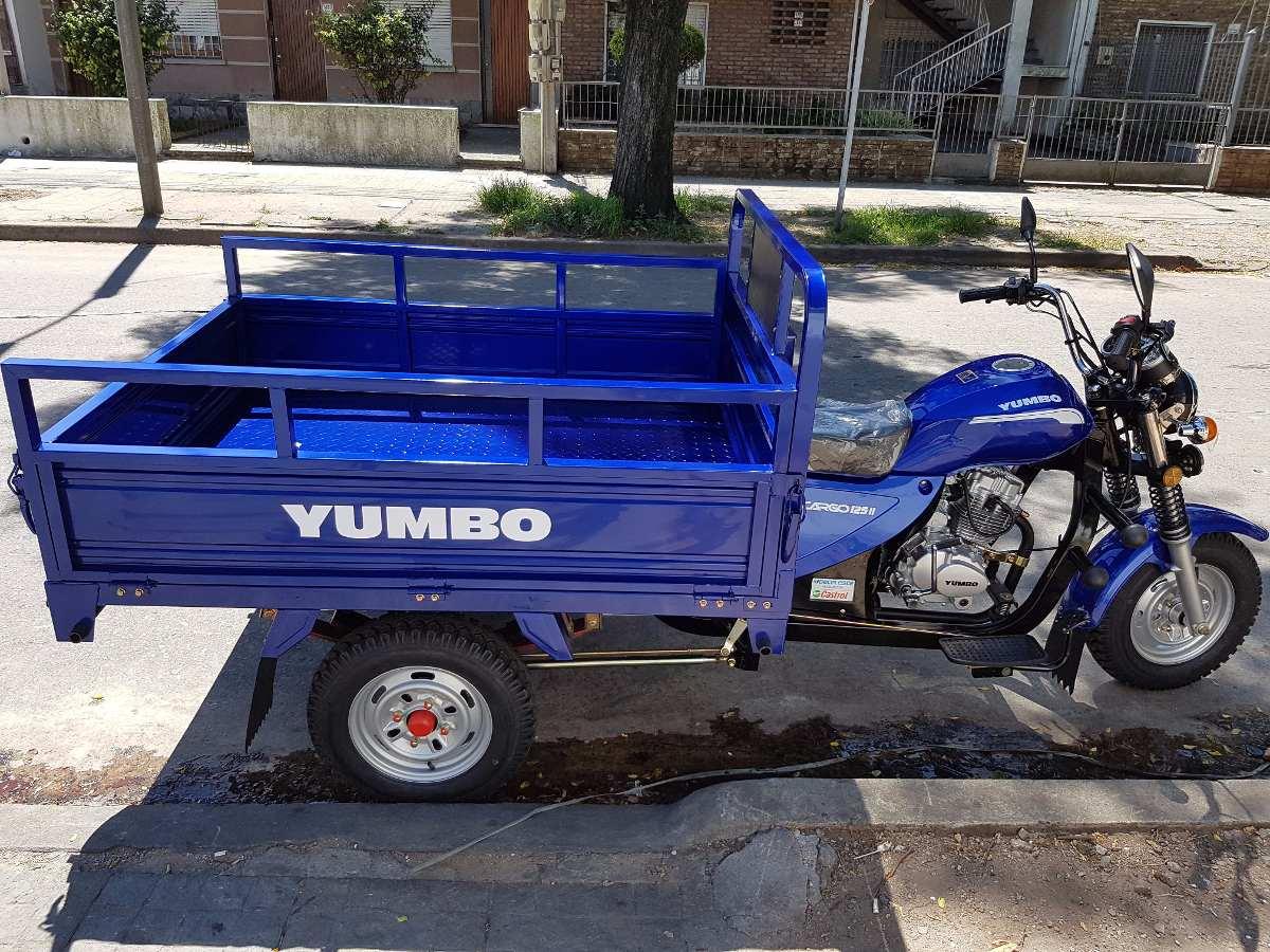 Yumbo Cargo 125 Empadronamiento 36 Cuotas Bike Up