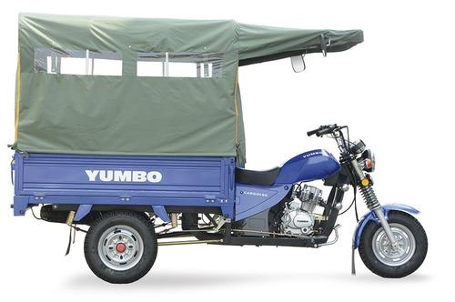 yumbo cargo 125 ii utilitario opcional toldo delcar motos