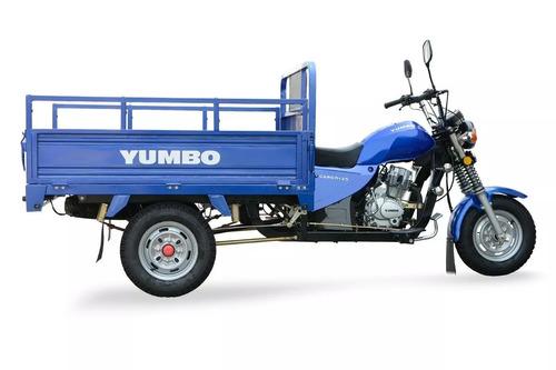 yumbo cargo 125 triciclo 100% financiado con casco y empa!!!