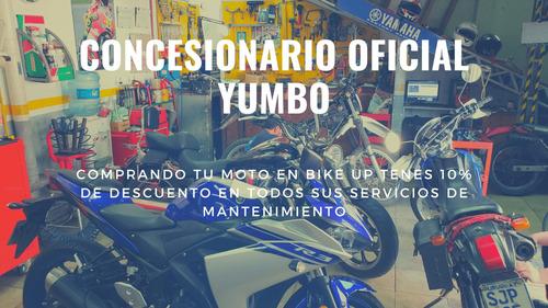 yumbo city 125 ii - garantia extendida - tomamos permutas