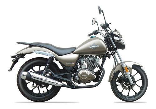 yumbo custom milestone ii 125 36 cuotas delcar motos