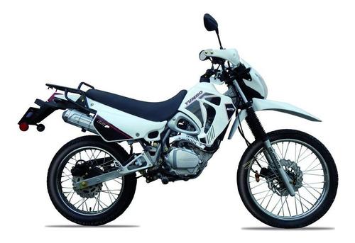 yumbo dk 125 f dakar - garantia extendida - bike up
