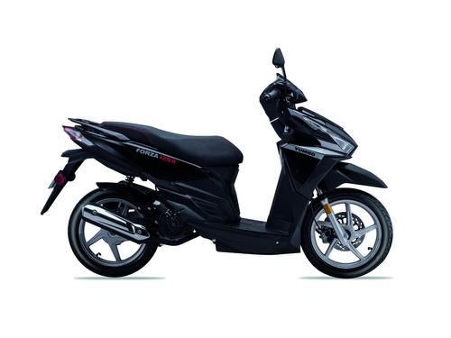 yumbo forza 125 ii moto scooter 0km 2020 + obsequios fama