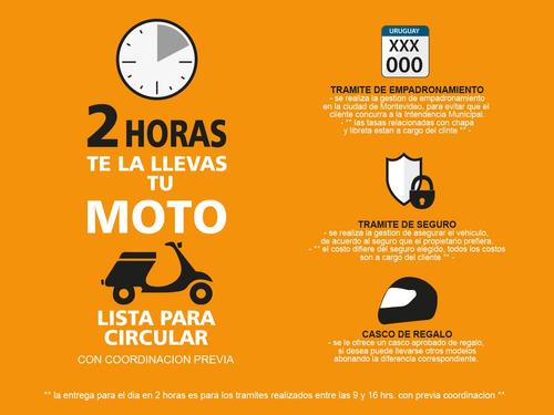 yumbo gs 200 iii moto deportiva 0km 2020 + obsequios - fama