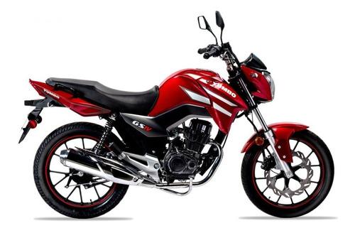 yumbo gs iv 125 36 cuotas delcar motos