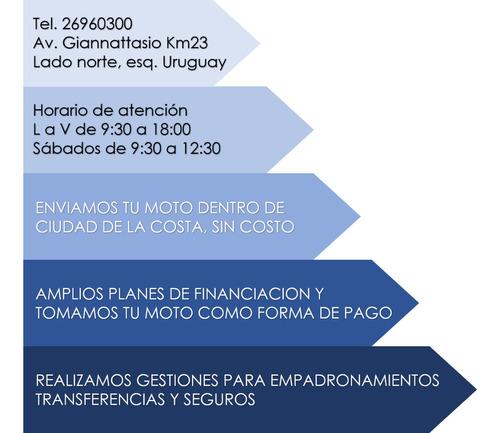 yumbo gs125 ii - entrega inmediata - permuto - financio
