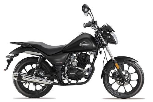 yumbo milestone 125 i i financia en 36 cuotas delcar motos