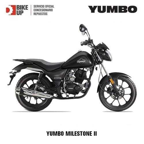yumbo milestone 125 ii - concesionario y servicio oficial