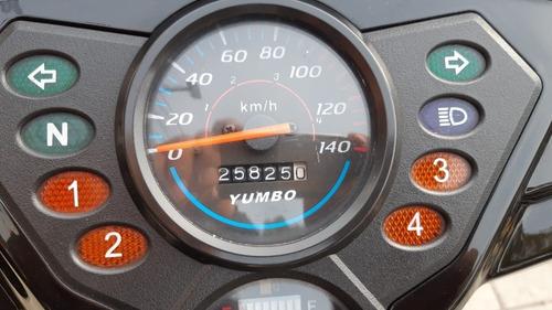 yumbo top 125 - excelente estado - exclusiva - permutas