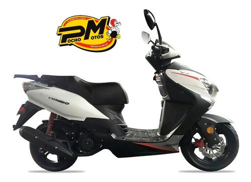 yumbo vx4 125 usb forza scooter pollerita px 110 casco y emp