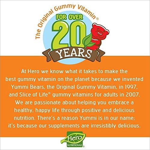 yummi bears vitamin c, suplemento para niños, 60 mg