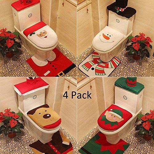 Yunanwa 4 pack decoraciones navide as para el hogar hotel - Decoracion navidena para el hogar manualidades ...
