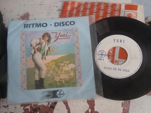 yuri disco lp vinyl sencillo promo algo de mi vida