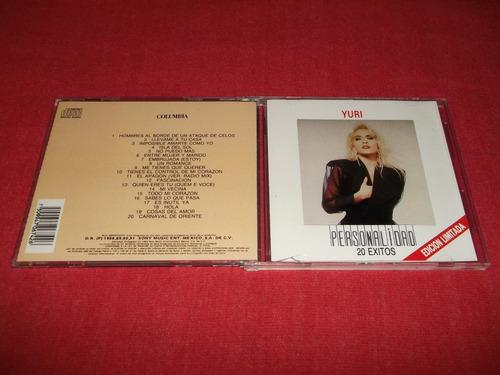 yuri - personalidad cd nacional ed 1992 mdisk