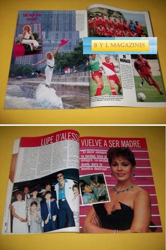 yuri revista activa 1986 lupita d'alessio carlota de monaco