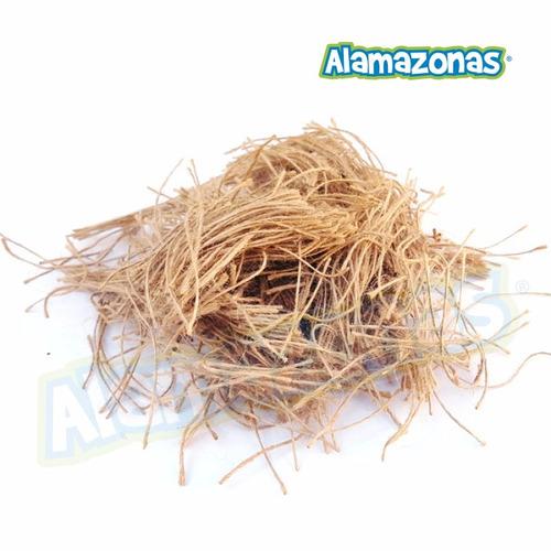 yute material para nido de canarios 50g + envío