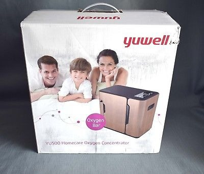 yuwell yu500 1.0-5.0l / min concentrador portátil de oxígen