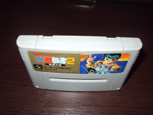 yuyu hakusho 2 original japonês super famicon/snes