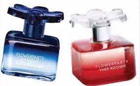2x1 Yves Rocher Perfume FlowerpartyBy Night SMVzpU