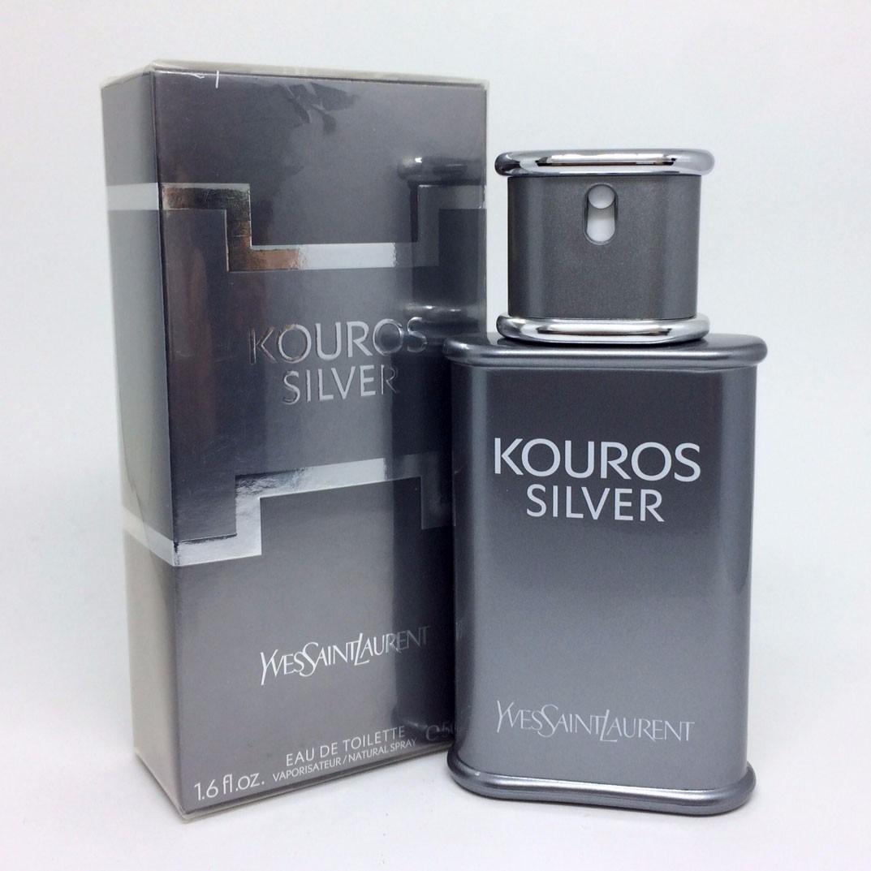 f7a4540bb3 Yves Saint Laurent Kouros Silver 50ml Masculino