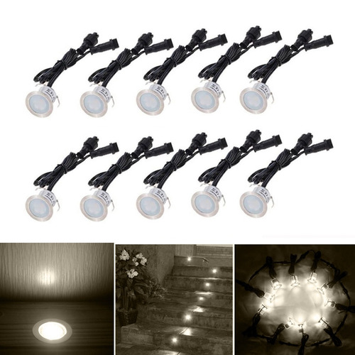 ywxlight pcs lm cubierta luz enterrada spotlight lampara