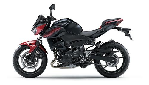 z400 kawasaki naked 2020 preto com vermelho
