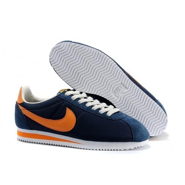 new product 0afb5 6b3ac ... where can i buy zaapatillas de mujer nike cortez azul naranja f2821  aa4c7