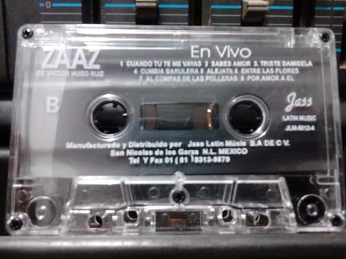 zaaz - en vivo (casete original)