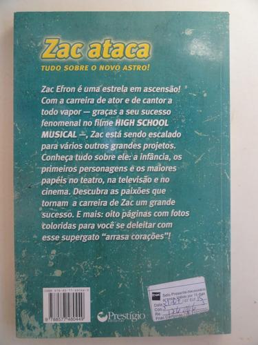 Zac Ataca - A Biografia Do Astro Do High School Musical - R  22,27 ... 87b199c8cf
