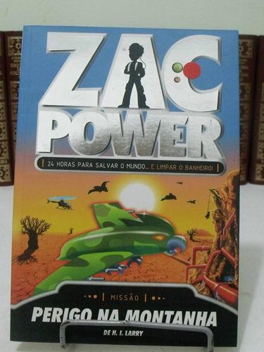 zac power - perigo na montanha  - h. i. larry