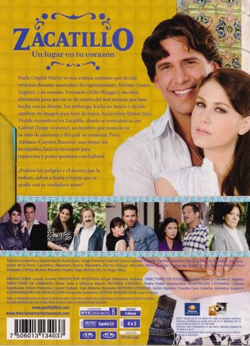zacatillo un lugar en tu corazon telenovela dvd