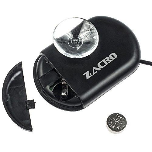 zacro lcd digital acuario termómetro pecera terrario de agu