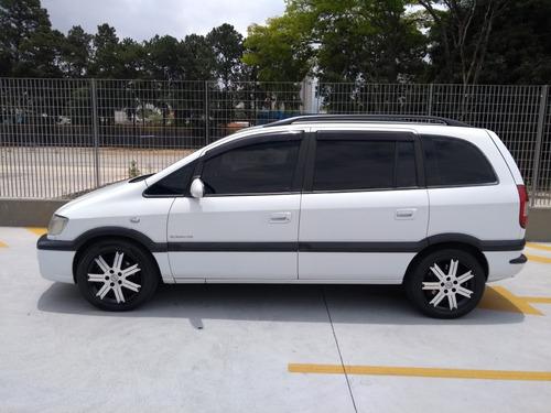 zafira kit gnv 2.0 elegance flex power aut. 5p ou troco