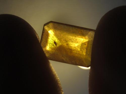 zafiro amarillo 12 ct para anillo dije talisman amuleto