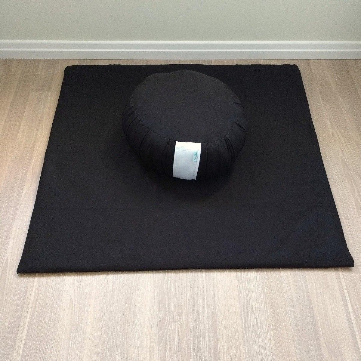zafú e zabuton almofadas de meditação cor preto r 214 00 em