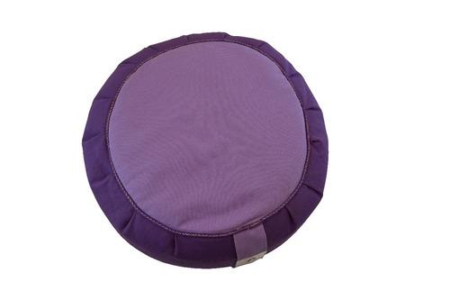 zafú mediano meditación. alt 24 cm centro 26 almohadon zafu