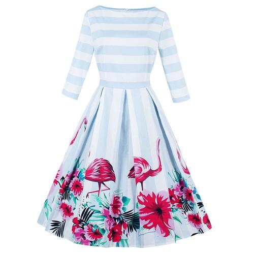 zaful 50s mujer vestido de fiesta