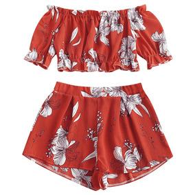0e05df23e Zaful Mexico Pantalones - Ropa, Bolsas y Calzado de Mujer Rojo en ...