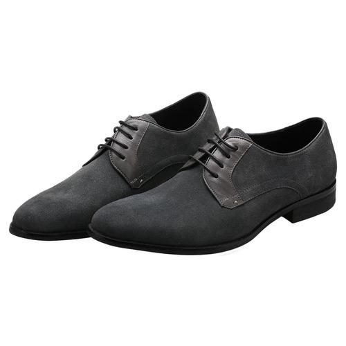 zaful hombres de negocio clásico de cordones derby zapatos