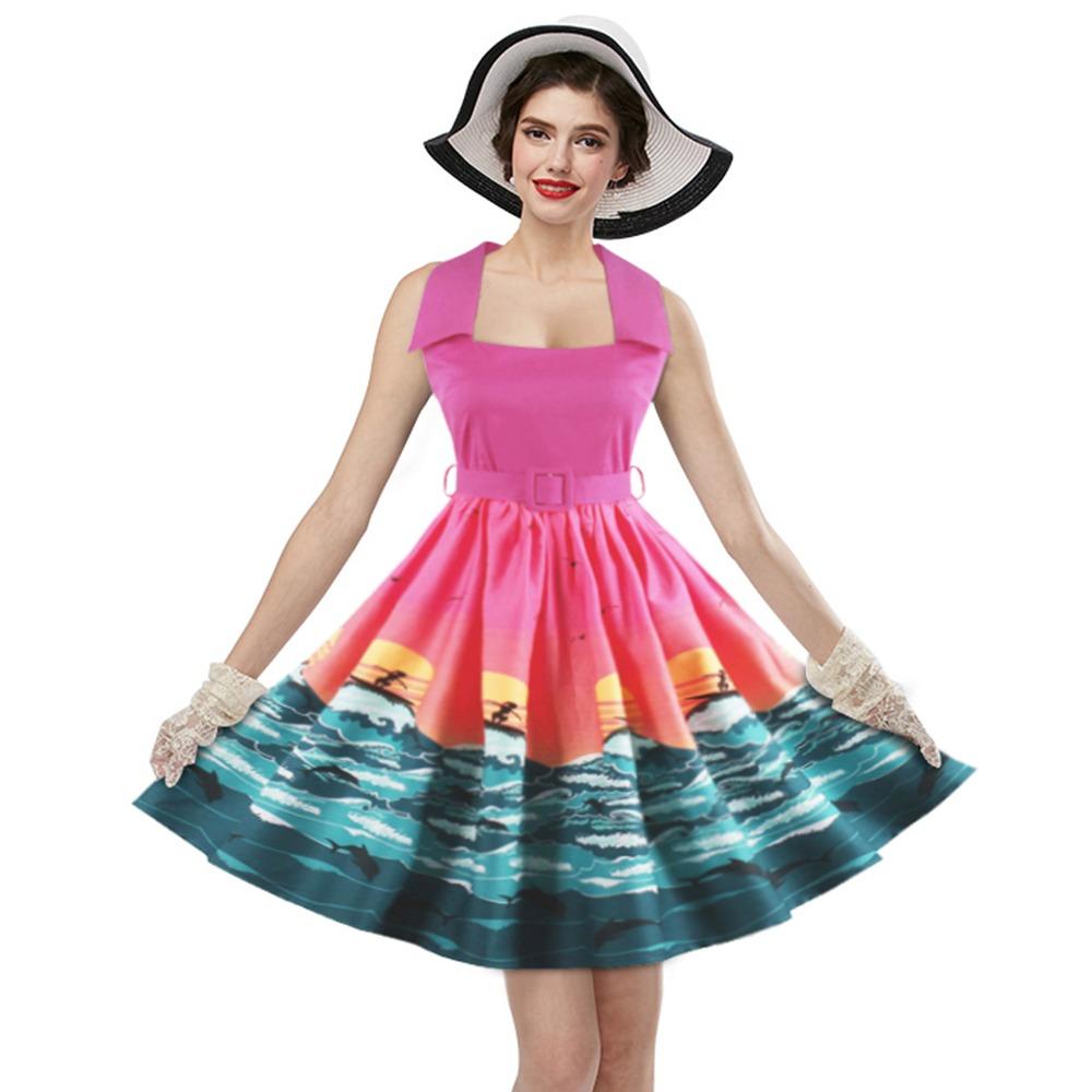 Zaful Moda De La Vendimia De La Nueva Llegada Vestido De Ver ...