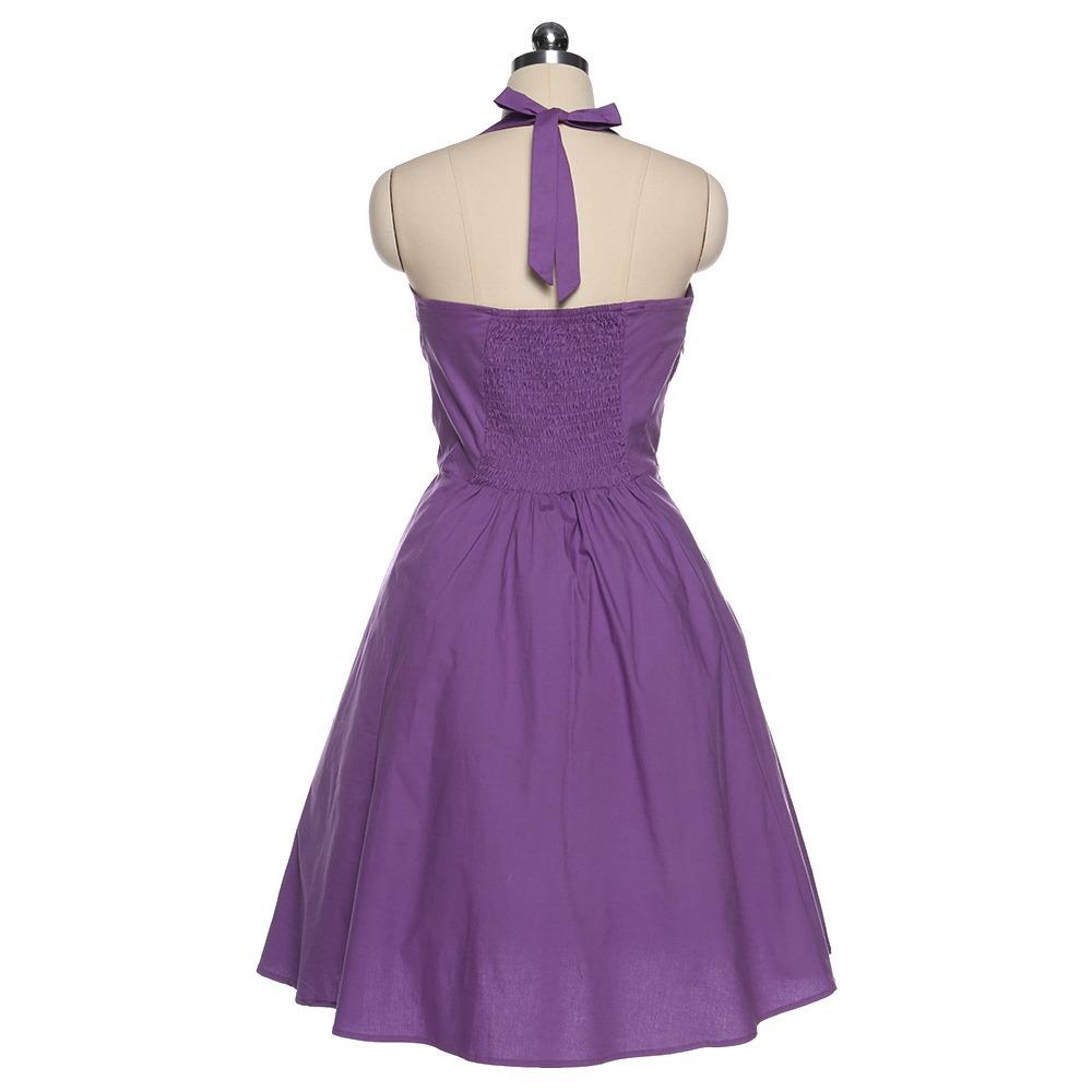 Vistoso Vestidos De Dama Gris De La Vendimia Festooning - Vestido de ...