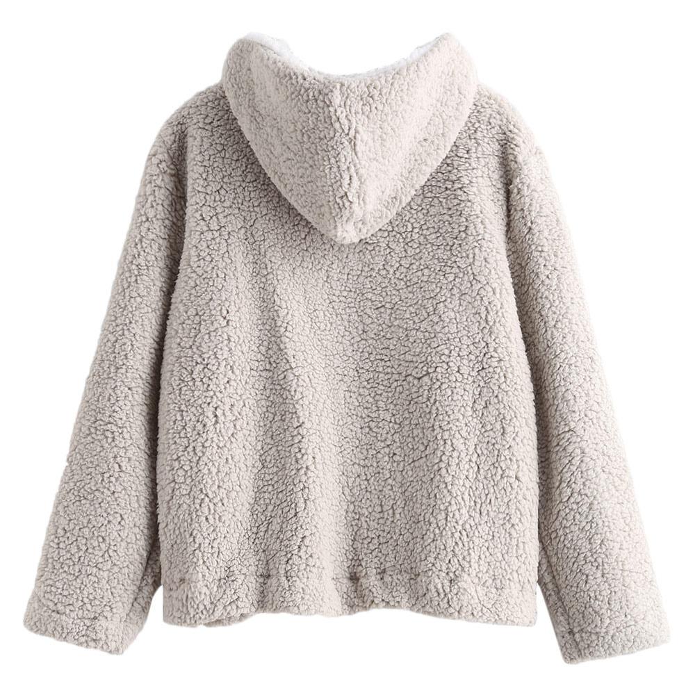 venta caliente online 5567e 4c0f7 Zaful Sudadera Polar Mujer