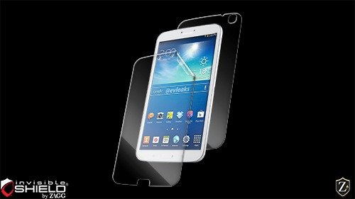 zagg invisible shield samsung galaxy tab 3 8.0 full body